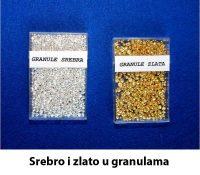 Srebro i zlato - granule